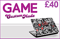 GAME Custom Made £40 Credit Gifts