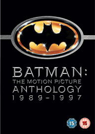 Batman the Motion Picture Anthology 1998-97 DVD