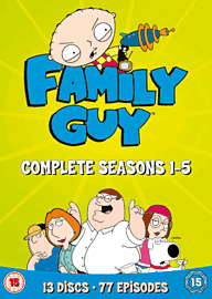 Family Guy Seasons 1-5 DVD