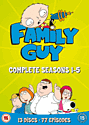 Family Guy Seasons 1-5 DVD