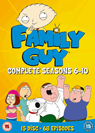 Family Guy Seasons 6-10 DVD