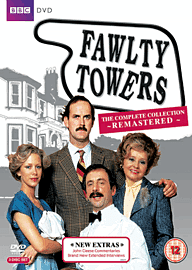 Faulty Towers - Remastered DVD