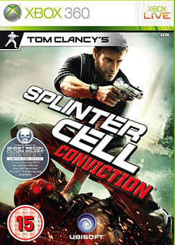 Tom Clancy's Splinter Cell: Conviction Xbox 360 Cover Art