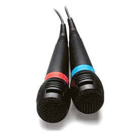 Wired Singstar Microphones Accessories