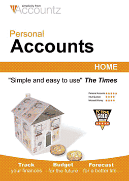 Personal Accounts 5 - Home Edition Computing