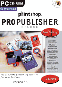 The Printshop Pro Publisher Deluxe Computing