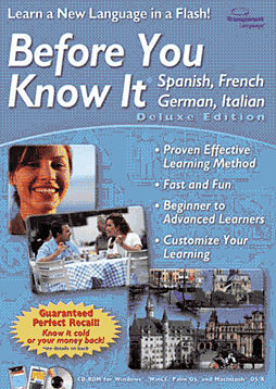 Before You Know It Deluxe Multi-Language (PC and MAC) Computing