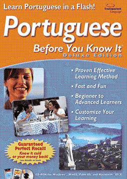 Brazilian Portuguese Before You Know It Deluxe (PC and MAC) Computing