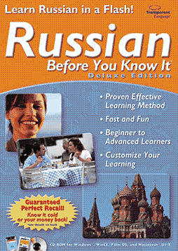 Russian Before You Know It Deluxe (PC and MAC) Computing