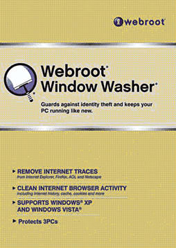 Webroot Window Washer 3User 1Year Computing