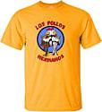 Official Breaking Bad Los Pollos Hermanos Small Yellow T-shirt Counter Basket