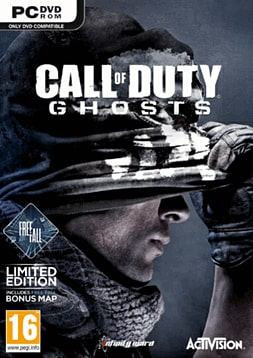 Call of Duty: Ghosts - Freefall Edition PC Games Cover Art