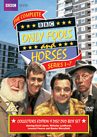 Only Fools and Horses Complete Series 1-7 DVD