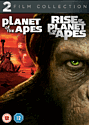 Planet of the Apes/ Rise of the Planet Apes Double Pack DVD