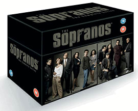 The Sopranos - Complete HBO Seasons 1-6 DVD