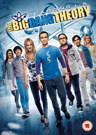 The Big BANG Theory Seasons 1-6 DVD