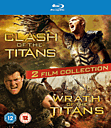 Clash of the Titans / Wrath of the Titans Double Film Pack Blu Ray