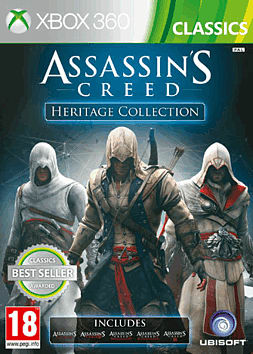 Assassin's Creed Heritage Collection Xbox 360 Cover Art