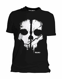 Call of Duty: Ghosts Skull T-Shirt - Large Clothing and Merchandise