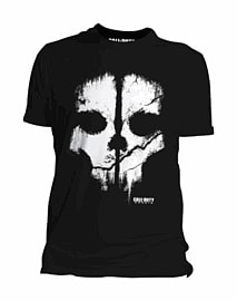 Call of Duty: Ghosts Skull T-Shirt - XL Clothing and Merchandise