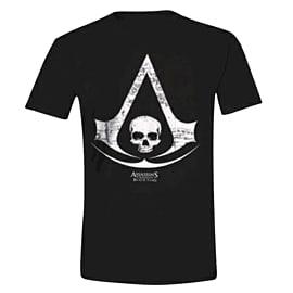 Official Assassins Creed IV: Black Flag Medium Logo T-Shirt Clothing and Merchandise