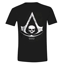 Official Assassin's Creed IV Black Flag XL Logo T-shirt Clothing and Merchandise