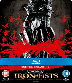 The Man With Iron Firsts Steel Book Edition Blu Ray