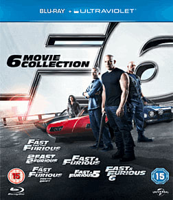 Fast and Furious 1-6 Collection Blu Ray