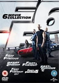 Fast and Furious 1-6 Collection DVD