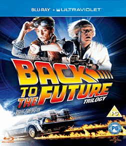 Back to the Future Trilogy with UV Blu-ray