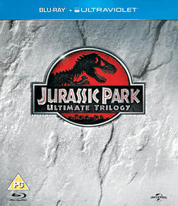 Jurrasic Park Trilogy with UV Copy Blu Ray