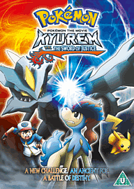 Pokemon KYyurem Vs. the Sword of Justice DVD