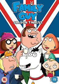 Family Guy Season 12 DVD