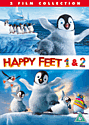Happy Feet 1&2 DVD
