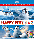 Happy Feet 1&2 Blu Ray