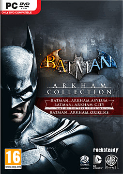 Batman Arkham Trilogy PC Games Cover Art