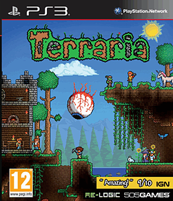 Terraria PlayStation 3 Cover Art