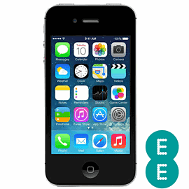 Preowned iPhone 4S 16GB Black (Grade B) - EE Electronics