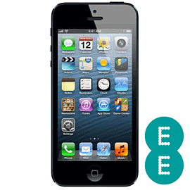Preowned iPhone 5 16GB Black (Grade B) - EE Electronics