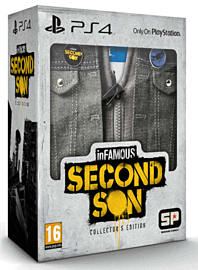 inFAMOUS: Second Son Collector's Edition - Only at GAME PlayStation 4 Cover Art