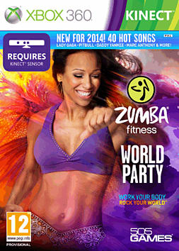 Zumba World Party Xbox 360