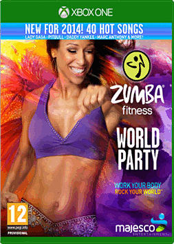 Zumba World Party Xbox One Cover Art