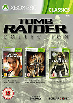 Tomb Raider Legend, Anniversary and Underworld Triple Pack Xbox 360