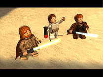 LEGO Star Wars: The Complete Saga screen shot 7