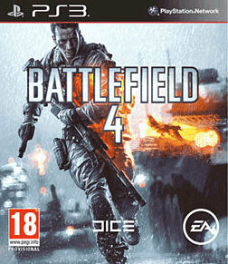 Battlefield 4 PlayStation 3 Cover Art