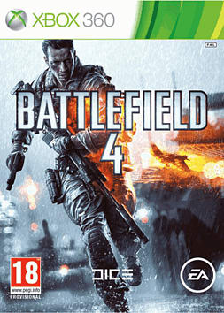 Battlefield 4 Xbox 360 Cover Art