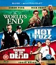 The Three Flavours Cornetto Trilogy Blu Ray
