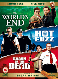 The Three Flavours Cornetto Trilogy DVD