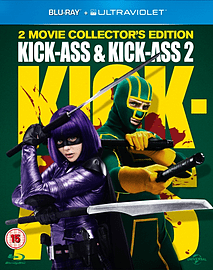 Kick Ass 1 & 2 with UV Copy Blu-ray