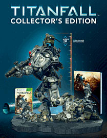 Titanfall Collector's Edition - Only at GAME Xbox-360 Cover Art